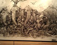 Amazing Drawing Elephant