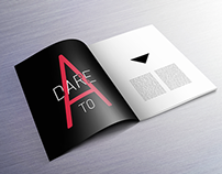 DARE TO A (Layout Design)
