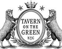 Tavern on the Green Logo Identity by Steven Noble