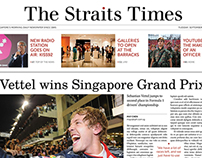 The Straits Times Redesign