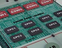 3D Circuit Renders