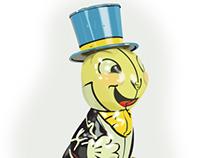Tin Jiminy Cricket