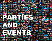 Video Reel of a Major Events 2006-2011