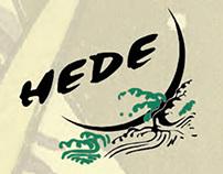HeDe Restaurant Menu Design