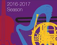 Capital Philharmonic of New Jersey: Brochure Design