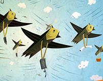 Noah's Ark recruitment illustrations