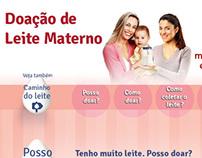 Aplicativo Facebook - Campanha Doação de Leite Materno