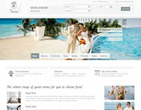 Responsive Wordpress Theme for online hotel Booking