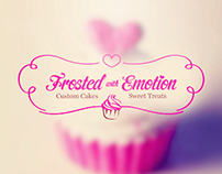 Frosted with Emotion - Logo for Sale!