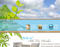 Mighty Leaf Teas Website Redesign