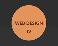 Web design portfolio IV
