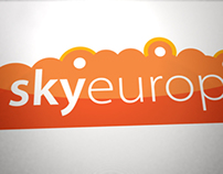 Sky Europe Branding