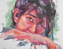 portrait in oil 2