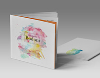 Giambattista Bodoni Brochure