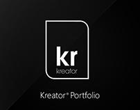 Kreator - Portfolio Showcase