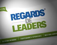 Identité visuelle Regards de Leaders