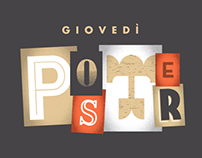 Giovedì Poster - Collection