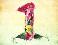 TYPOGRAPHY // Flower 01