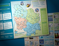 Affiche et dépliant pour l'ARS Bourgogne