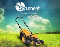 """""""Strument"""" e-commerce site"""
