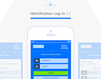 Mobile Checkout Process Simplified - Wireframes