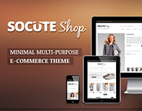 Socute shop: Multi-purpose E-commerce Theme