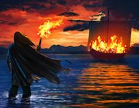 Cuentos con Dioses y Guerreros-La furia de Odin