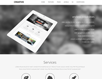 TD Creative - Responsive Joomla Template