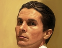 Portrait of Christian Bale (Equilibrium movie)