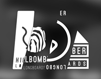 Hillbomber longboards logo concepts
