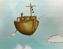 Flying boat - Bateau volant