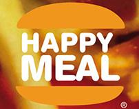 Plakatgestaltung Happy Meals & Vater Staat
