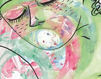 Seré mar - illustration for a poem