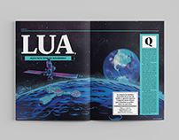 Lua - Editorial Design