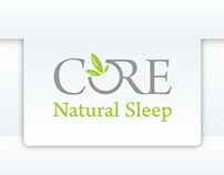 Core Natural Sleep Brand Management and Web Design