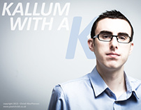My latest portrait shoot: Kallum Russell, Entrepreneur.