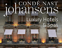 Conde Nast Johansens book covers