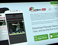 Paywast App Microsite