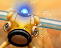 Planet Fish UI Design