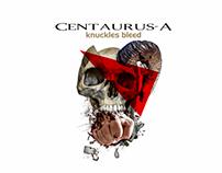 "CD art Centaurua-A ""Knuckles bleed"""