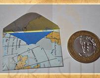 "Mini Envelopes ""Maps"""