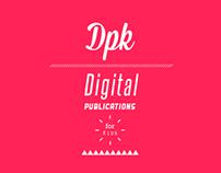 DPK, Publicaciones digitales para niños.