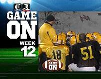 Game On! Week Twelve