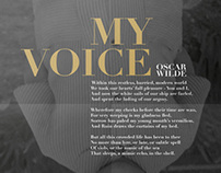 PoemPoster // My Voice
