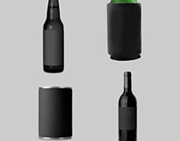 Bottle and Can Mockup Templates