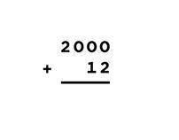 2000+12 Calendar