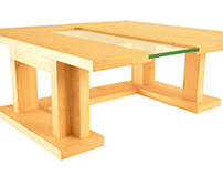 Japanese Floor Table