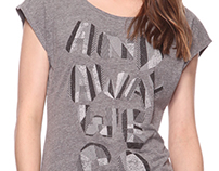 Forever21 Typography Hipster