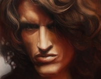 Portrait of Joe Perry (Aerosmith)