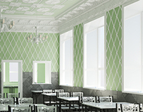 Renovation of classic eatery in Saratov